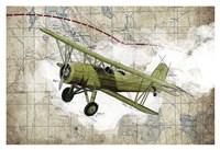 Biplane 2 Fine Art Print