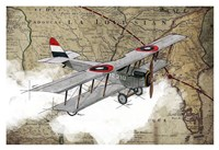 Biplane 4 Fine Art Print