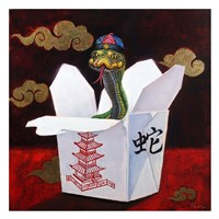 Takeout with a Twist Fine Art Print