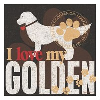 Golden Fine Art Print