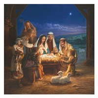 Holy Night Fine Art Print