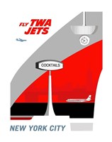 Fly TWA Jets Fine Art Print