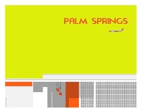 Gods of Palm Springs No 1 Fine Art Print
