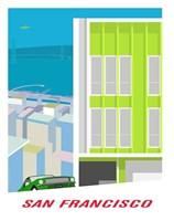 Pacific Heights Bullitt Fine Art Print