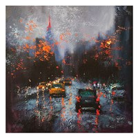 New York on a Stormy Day Fine Art Print