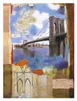 Brooklyn Bridge II Fine Art Print