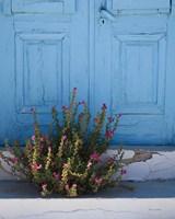 Santorini I Crop Fine Art Print