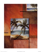 "Tropical Breeze I by Art Group Deljou - 11"" x 14"""