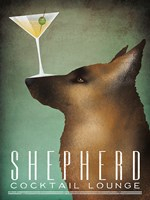 Shepherd Martini Fine Art Print
