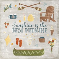 Summer Sunshine II Fine Art Print