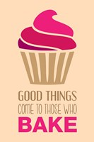 Good Things Come To Those Who Bake- Strawberry Fine Art Print