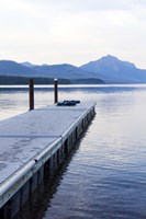 Lake McDonald Pier Fine Art Print