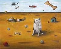 A Dogs Dream Fine Art Print