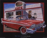 Cafe Car Framed Print