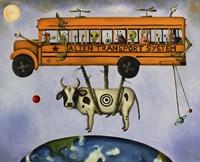 Alien Transport Fine Art Print