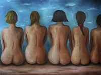 Beach Bums Fine Art Print