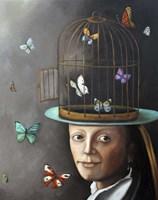 Butterfly Keeper 1 Fine Art Print