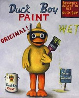Duck Boy 1 Fine Art Print