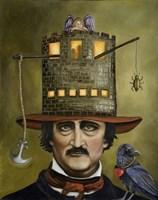 Edgar Allan Poe Fine Art Print