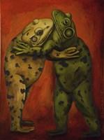 Frogdancers Fine Art Print