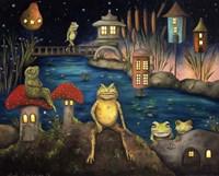 Frogland 1 Fine Art Print