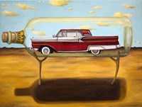 Galaxie In A Bottle Fine Art Print
