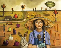 Harvey And The Excentric Farmer Fine Art Print