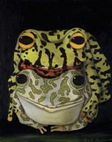 Horny Toads 2 Fine Art Print