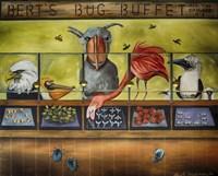 Iberts Bug Buffet Fine Art Print