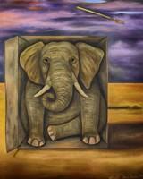 Last Elephant Fine Art Print