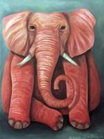 Pink Elephant Fine Art Print
