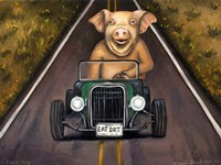 Road Hog Fine Art Print
