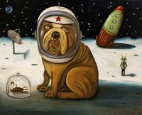 Space Crash Fine Art Print