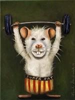 Super Rat Fine Art Print