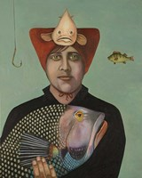 A Fish Story Fine Art Print