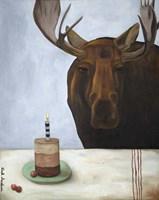 Chocolate Moose Fine Art Print