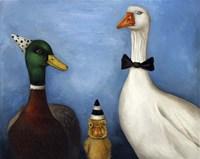 Duck Duck Goose Fine Art Print