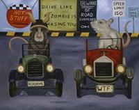 Rat Race #4 Fine Art Print
