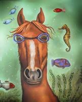 Sea Horse Fine Art Print