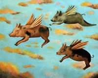 When Pigs Fly Fine Art Print