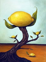 Lemon Tree Surreal Fine Art Print