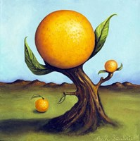 Orange Fruit Tree Fine Art Print