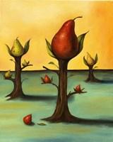 Pear Trees 3 Fine Art Print