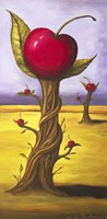 Surreal Cherry Tree Fine Art Print