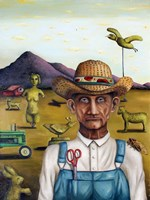 Eccentric Farmer 1 Fine Art Print