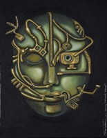Metal Head Fine Art Print