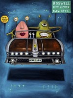 Welcome To Roswell Fine Art Print