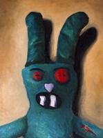 Zombie Bunny Fine Art Print
