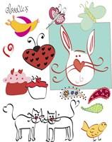 Doodlez Fine Art Print