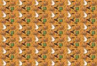 Pumpkin Pattern Fine Art Print